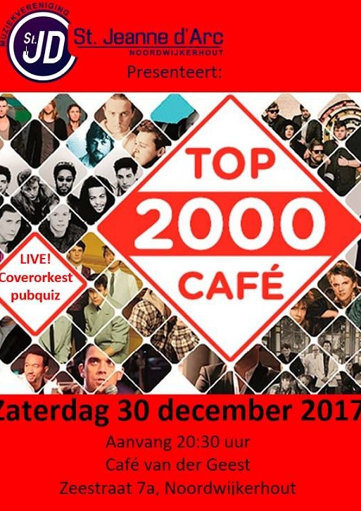 Coverorkest Jeanne: Top2000 café Live!