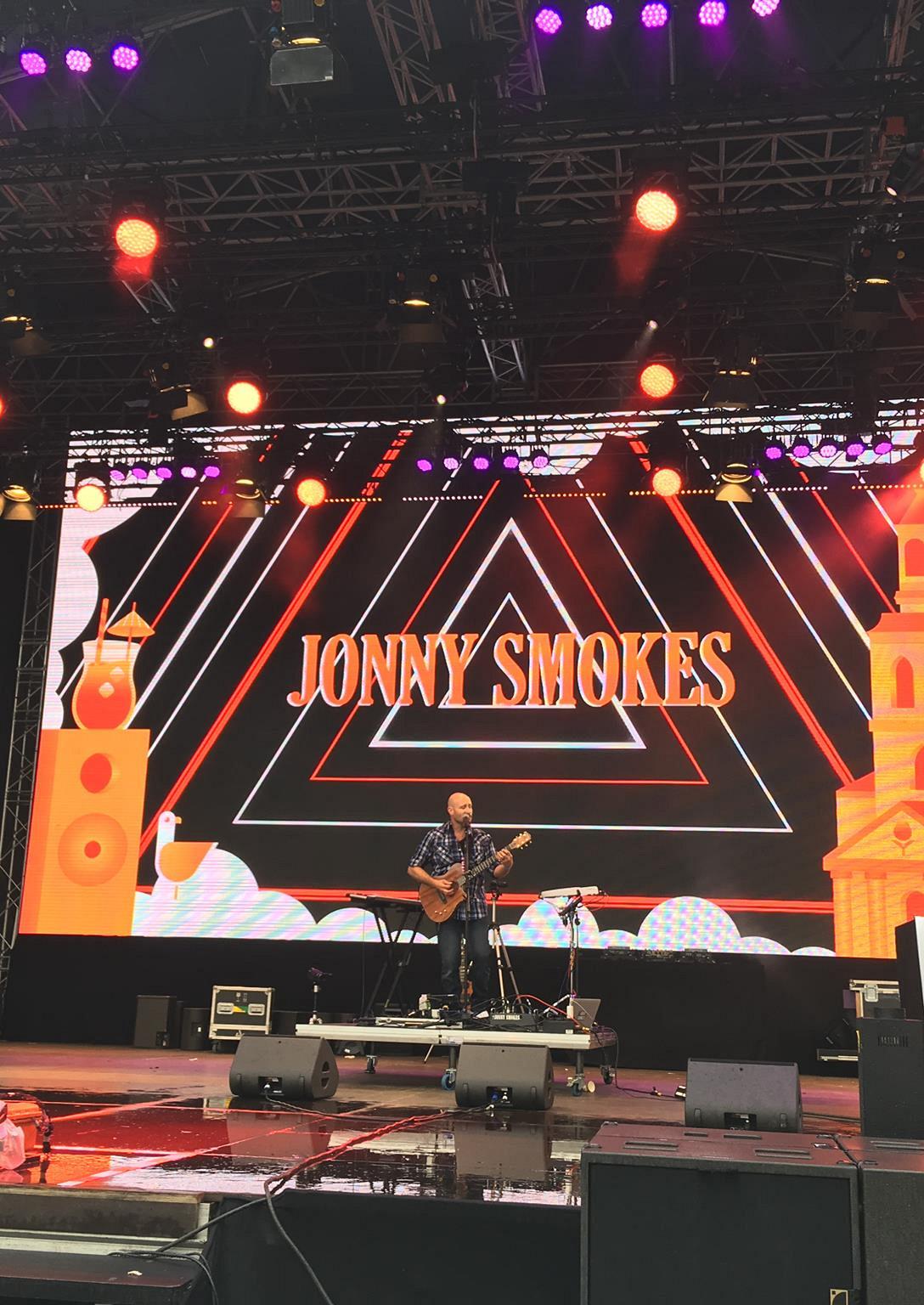 Live Muziek met Jonny Smokes
