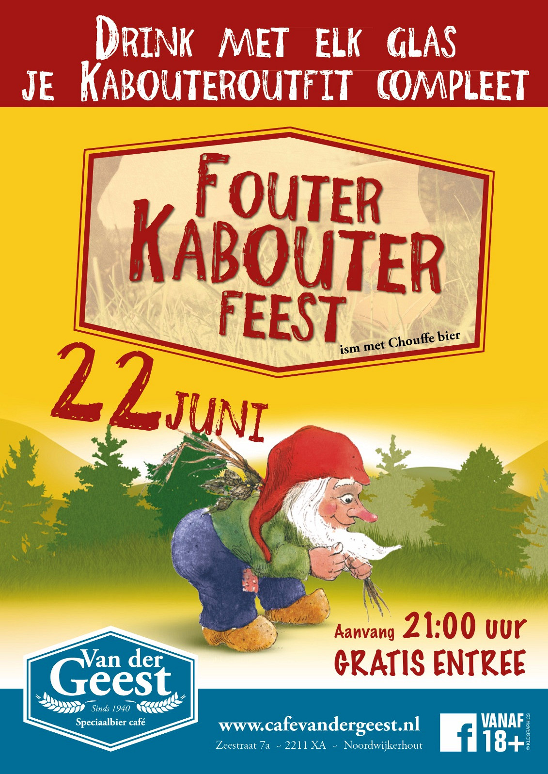Fouter Kabouter Party!
