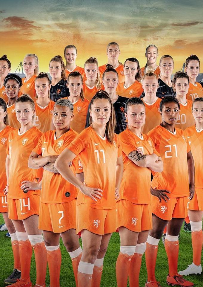 Verenigde Staten  - Oranje Leeuwinnen (Groot Scherm)