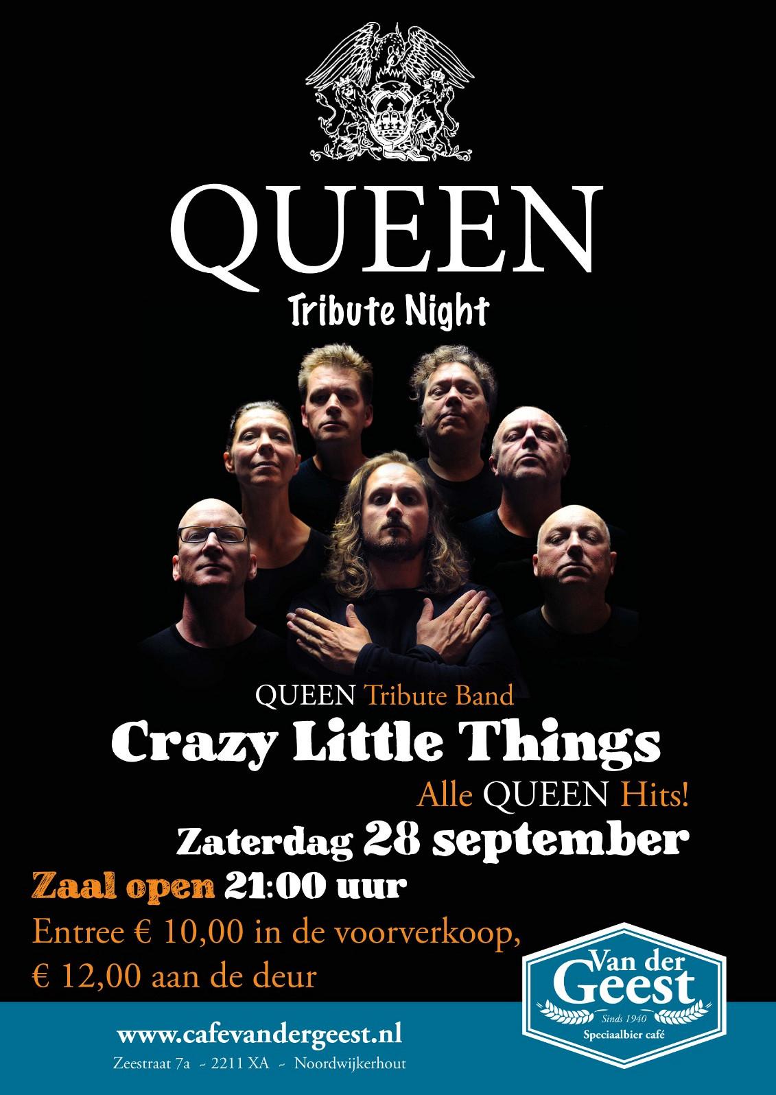 Queen Tribute Night met 'Crazy Little Things'