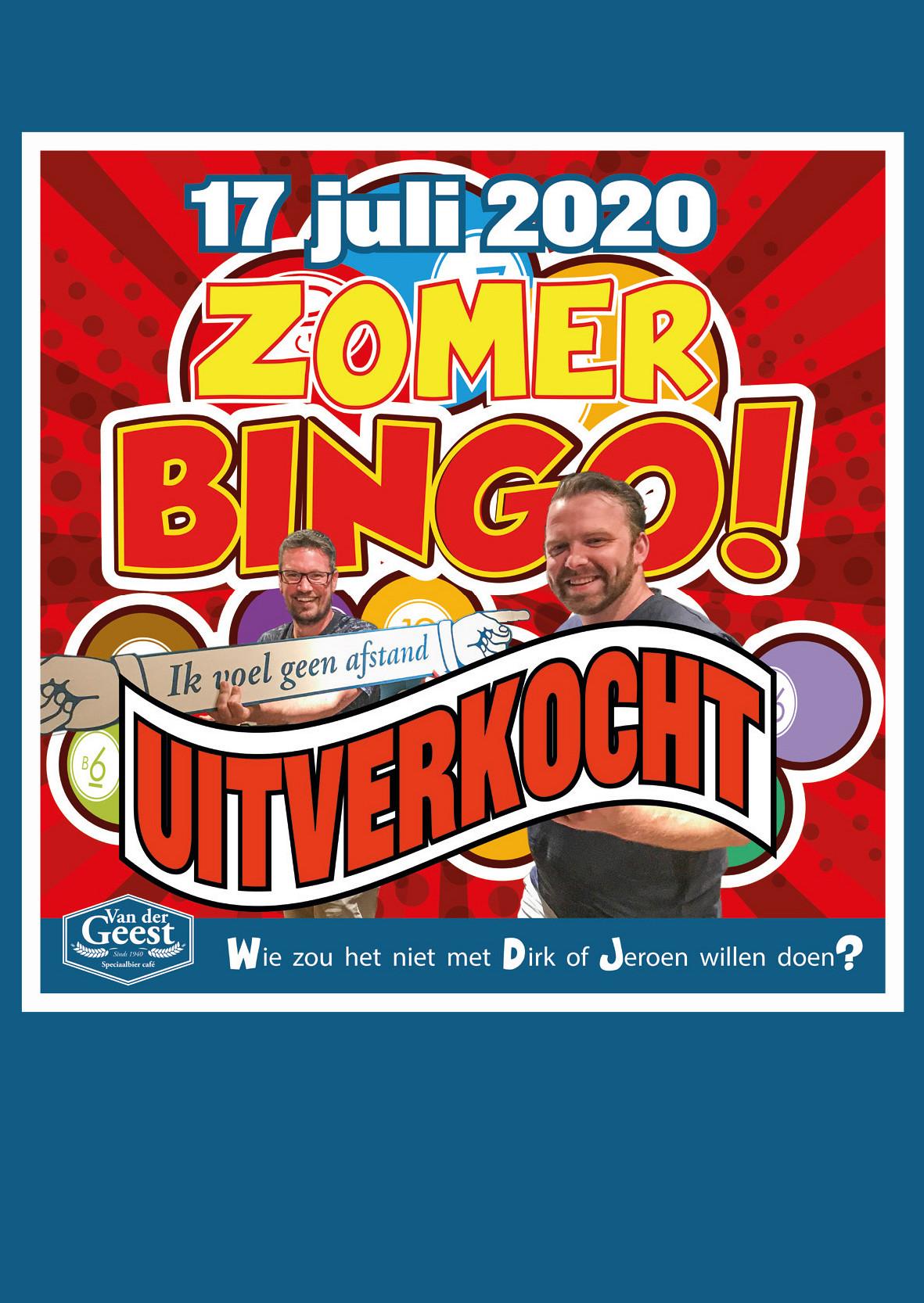 Zomer BINGO 2020