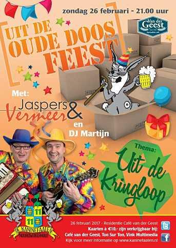 Café van der Geest Uit de Oude Doos Feest - Zondagavond Carnaval
