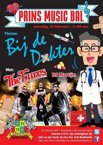 Café van der Geest Prins Music Bal - Zaterdagavond Carnaval