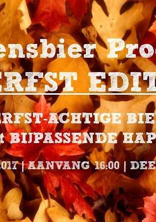 Café van der Geest Seizoensbier proeverij: Herfst editie