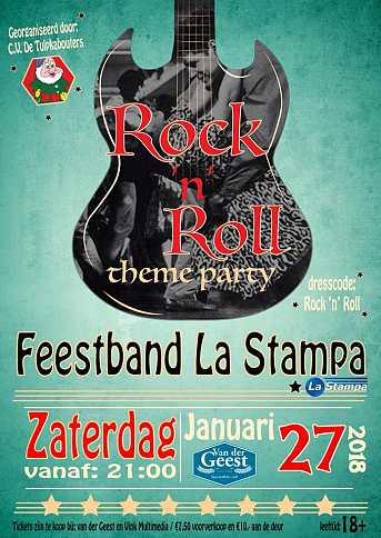 Café van der Geest Rock & Roll feest