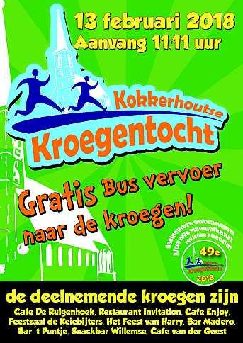 Café van der Geest KOKKERHOUTSE KROEGENTOCHT