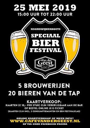 Café van der Geest Noordwijkerhouts Speciaalbier Festival