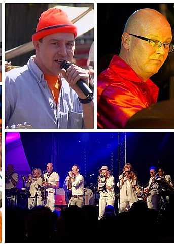 Café van der Geest Anti Stress Band 20 jarig jubileumfeest