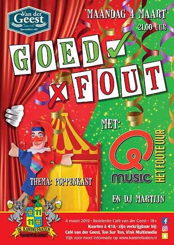 Café van der Geest MAANDAG - vd Geest - GOED / FOUT