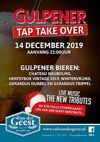 Café van der Geest Tap Take Over: Gulpener Brouwerij