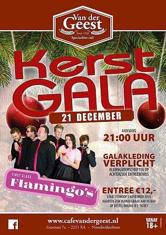 Café van der Geest Kerstgala: First Class Flamingo's