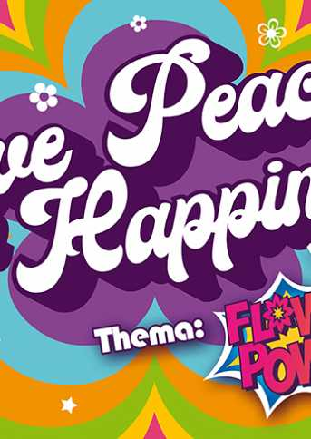 Café van der Geest UITVERKOCHT! Carnaval, Love Peace and Happiness