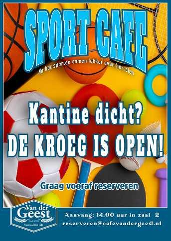 Café van der Geest Sport Cafe