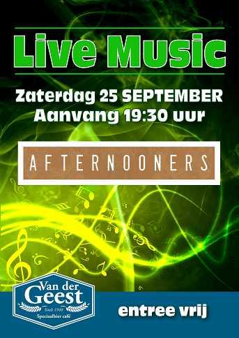 Café van der Geest Live Music